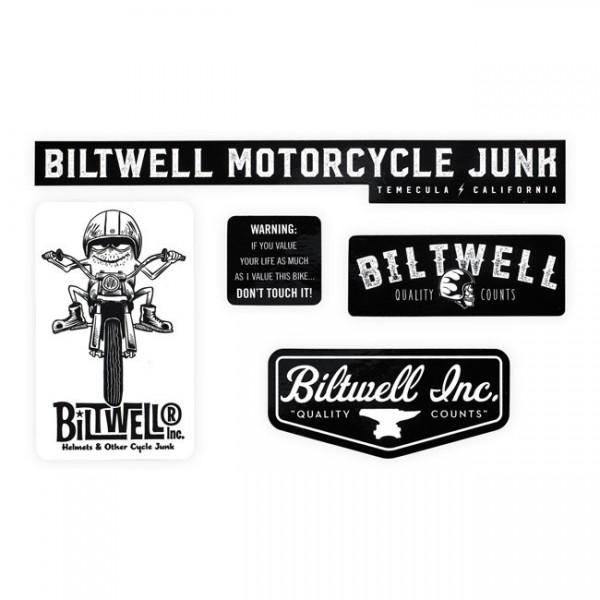 """BILTWELL Aufkleber - """"Gremmie Sticker Pack"""" - 5-teilig"""
