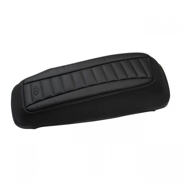"""MUSTANG Seat - """"Mustang saddlebag lid covers deluxe"""" - 14-20 Touring"""