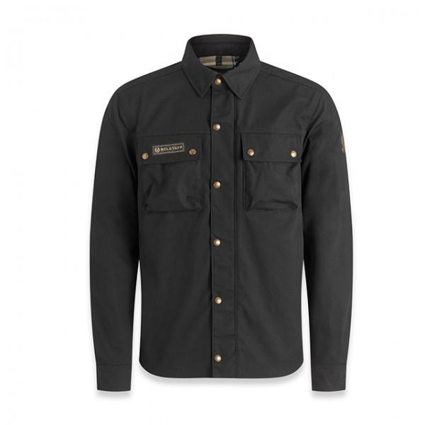 BELSTAFF PM Motorcycle Shirt Mansion in black