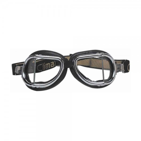 "CLIMAX Goggles - ""501"" - chrome & black"