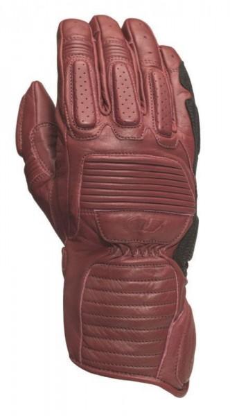 """ROLAND SANDS Gloves - """"Ace"""" - oxblood"""
