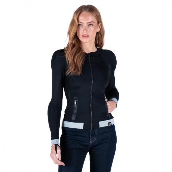 KNOX Damen Baselayer Action Shirt MK2 schwarz und grau