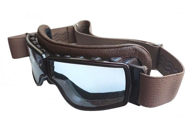 AVIATOR Brille T2 antikbrown gunmetal transparent