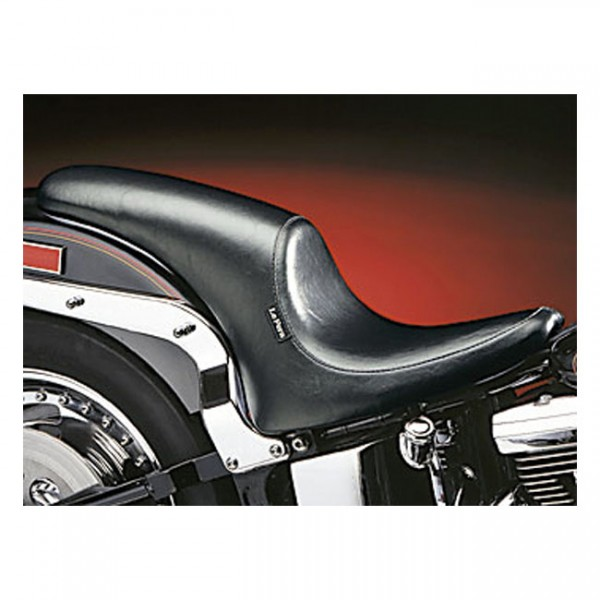 """LEPERA Seat - """"LePera, Silhouette Up-Front seat"""" - 00-17 Softail (excl. Deuce) with up to 150mm rear tire (NU)"""