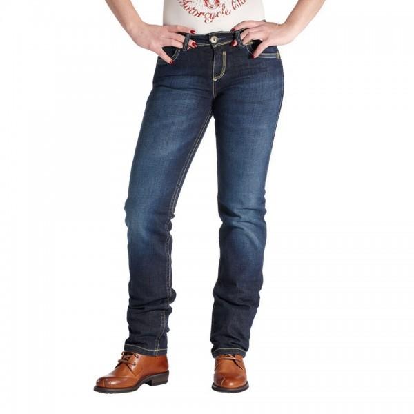 """ROKKER Women's Jeans - """"The Lady"""" - blue"""