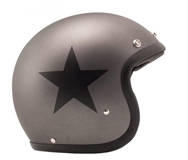 DMD Jethelm Vintage Star Grey