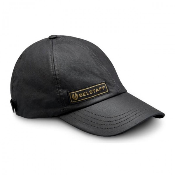 BELSTAFF hat Cal in black with logo