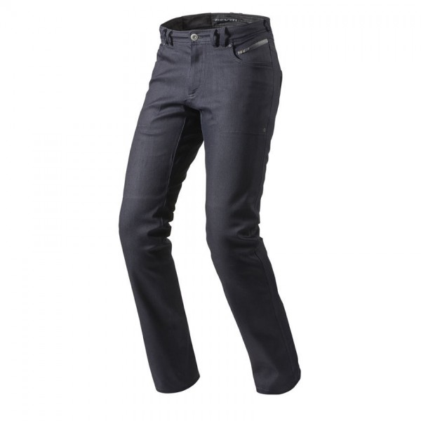 "REV'IT Jeans - ""Orlando H2O"" - men's waterproof motorcycle jeans dark blue"