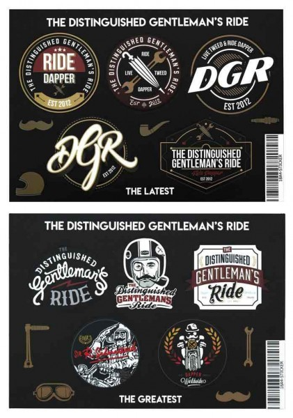 "DGR sticker - ""Silversteed's Sticker Sheets"" - 10 pcs."