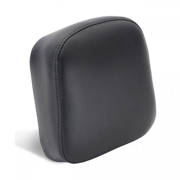 """MUSTANG Seat - """"Mustang vintage wedged sissy bar pad plain black"""" - 84-99 Yamaha Virago 700/750/1000/1100"""