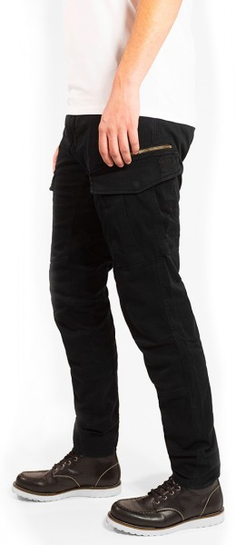 John Doe Stroker Cargo Pants black