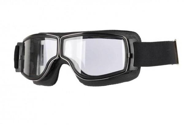 AVIATOR Brille T3 schwarz gunmetal transparent