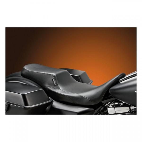 """LEPERA Seat - """"LePera, Nomad II 2-up seat. Smooth"""" - 08-20 Touring"""