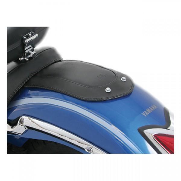 """MUSTANG Seat - """"Mustang fender bib plain black"""" - Yamaha: 07-17 V-Star 1300; 07-17 V-Star 1300 Tourer; 07-17 V-Star 1300 DeLuxe"""