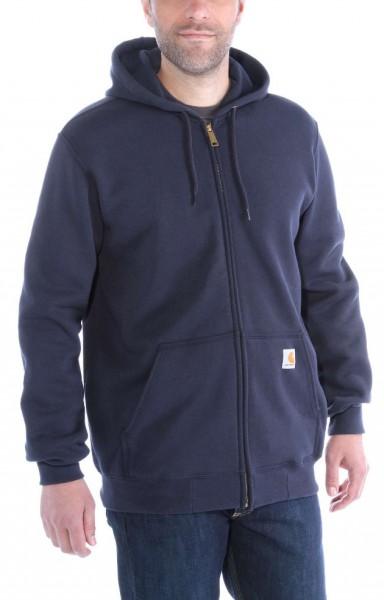 """CARHARTT Hoodie - """"Midweight Hooded Zip-Front Sweatshirt"""" - new navy"""