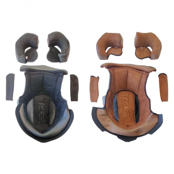 QWART Innenfutter aus Leder in Schwarz oder Braun