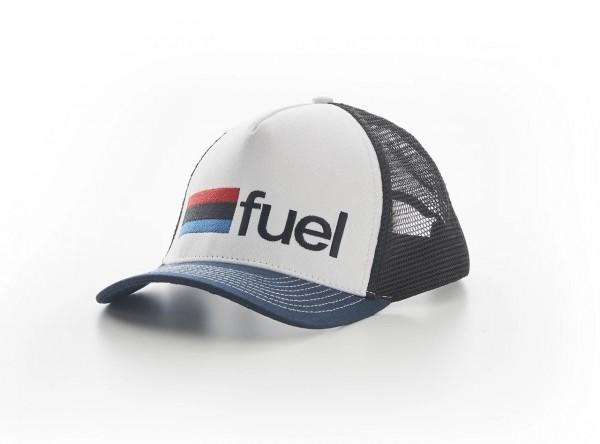 """FUEL Cap - """"Rally Raid"""" - blau & weiß"""