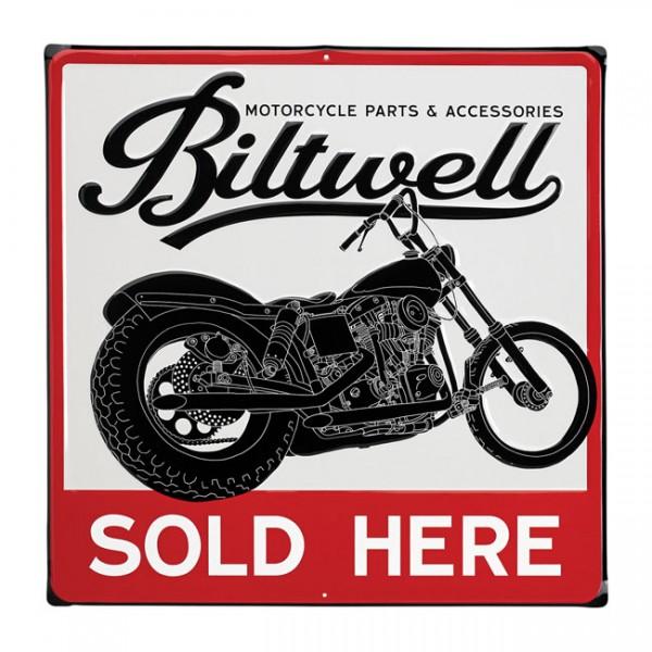 BILTWELL Swingarm Blechschild