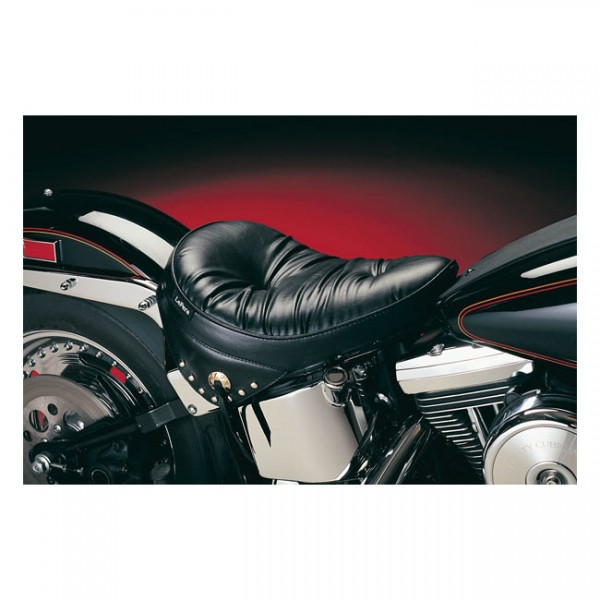 """LEPERA Sitz - """"Sanora solo seat. Regal Plush with skirt. Gel"""" - 00-07 Softail with up to 150mm tire,"""