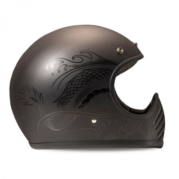 DMD 75 SeventyFive Carbon Koi Full Face Helmet with ECE