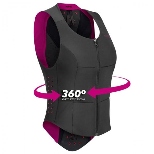 KOMPERDELL protector vest Ballistic Vest Women in black and pink