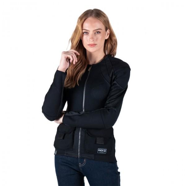 KNOX Damen Protektorenhemd Urbane Pro Utility MK2 schwarz