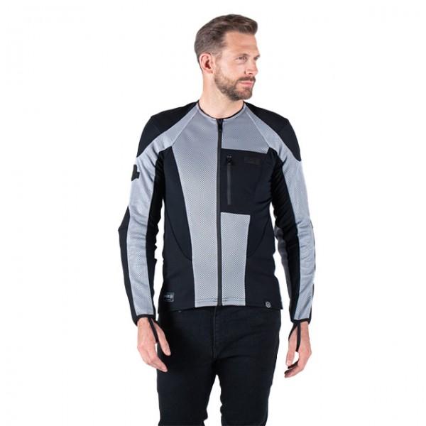 KNOX Protektorenhemd Urbane Pro MK2 schwarz und grau