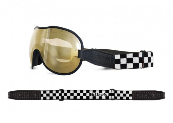 """ETHEN Goggles - """"Cafe Racer CR0124"""" - photochrome, bronze mirrored"""