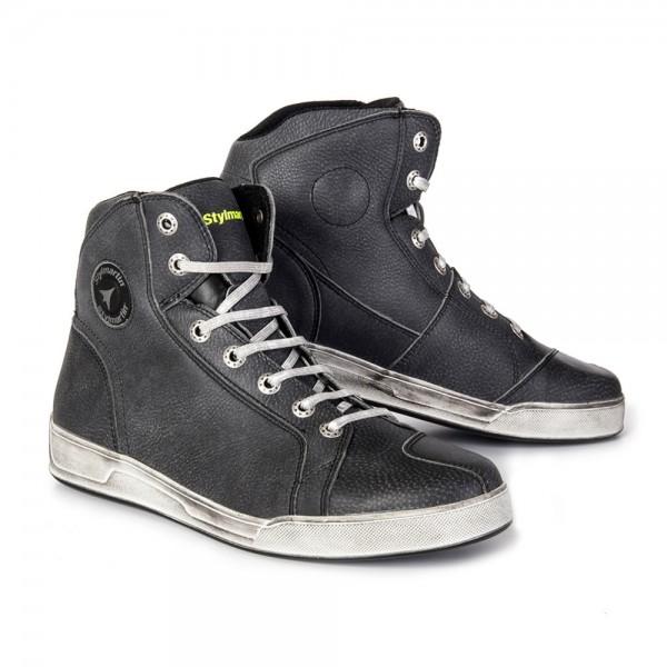 "STYLMARTIN Motorrad Sneaker - ""Chester"" - wasserdicht dunkelgrau"