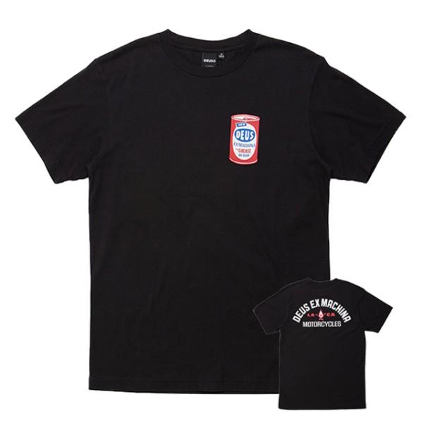 DEUS EX MACHINA t-shirt Loco Tee in black