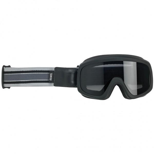 "BILTWELL Goggle - ""Overland 2.0 Racer Black"" - B/G"