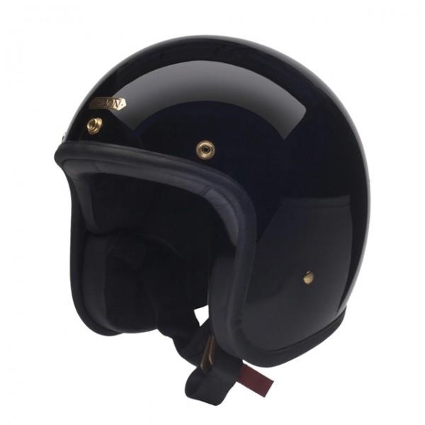 HEDON Hedonist Signature Black Open Face Helmet