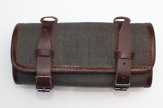 "CRAVE FOR RIDE - ""Tool Roll"" - olive & brown"