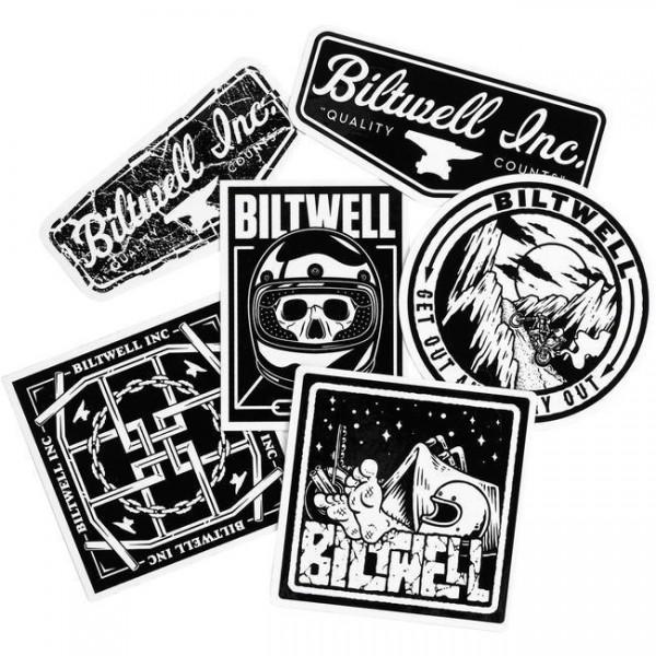 "BILTWELL Aufkleber - ""VNM Sticker Pack"" - 6-teilig"