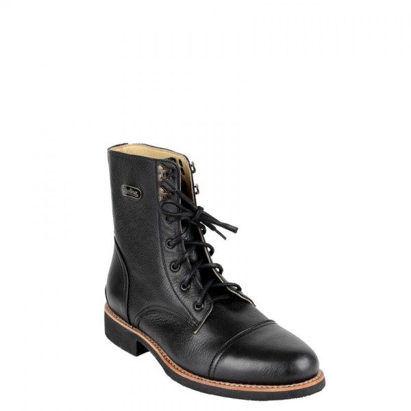 "GASOLINA Motorcycle Boots - ""Dapper"" - black"