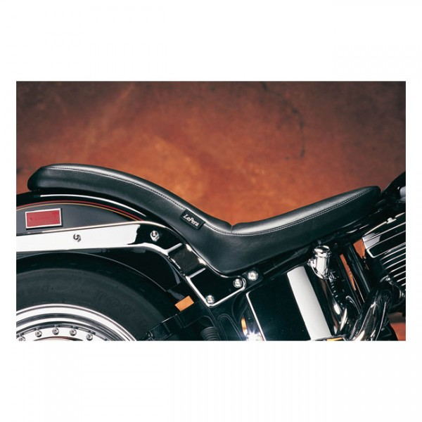 """LEPERA Sitz - """"Cobra 2-up seat. Smooth"""" - 84-99 Softail with up to 150mm rear tire (NU)"""
