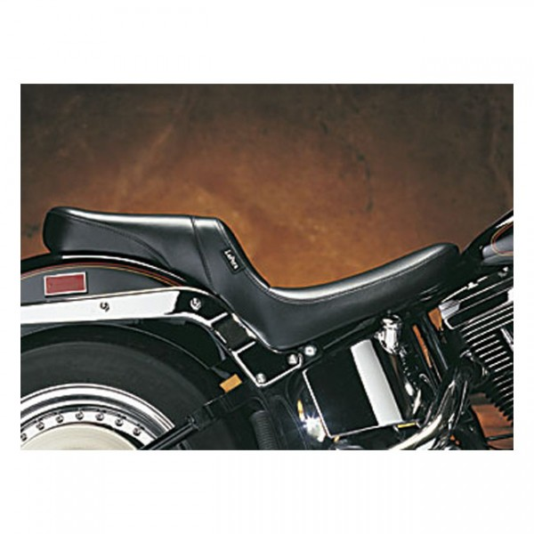 """LEPERA Seat - """"LePera, Daytona 2-up seat. Smooth"""" - 00-17 Softail (excl. Deuce, FXS, FLS/S) with up to 150mm rear tire (NU)"""