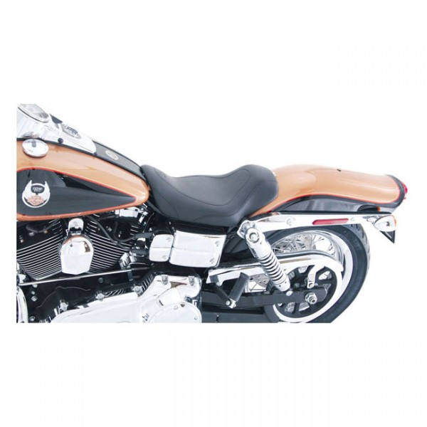 """MUSTANG Sitz - """"Mustang, Tripper solo seat"""" - 96-03 Dyna (NU)"""