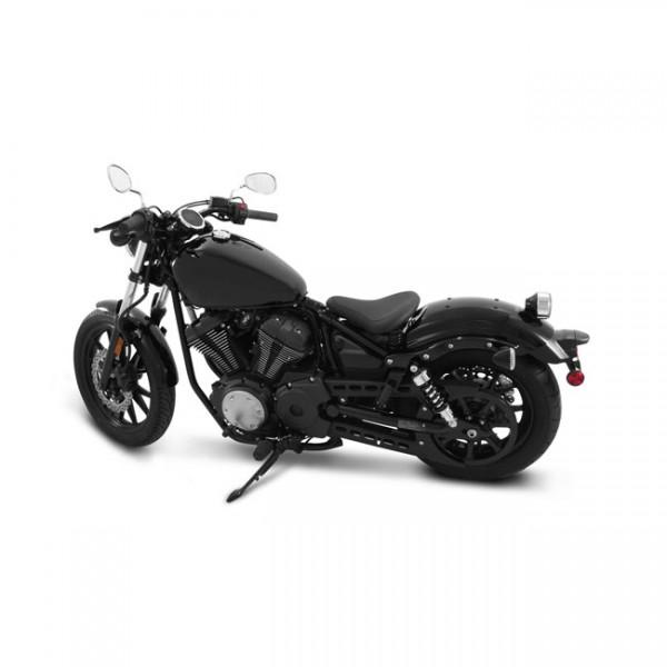 "MUSTANG Sitz - ""Mustang spring solo seat plain black"" - 14-20 Yamaha Bolt"