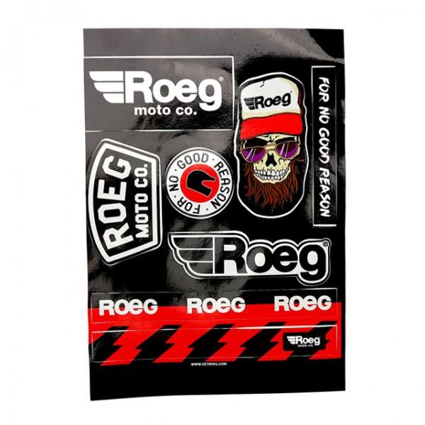 ROEG Sticker Kit 8 pieces