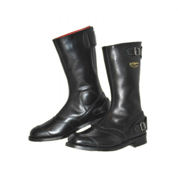 """LEWIS LEATHERS Motorcycle Boots - """"178 Racing"""" - black"""