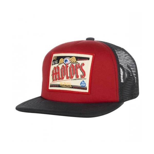 """VON DUTCH Hat - """"Red Motor"""" - red & black"""