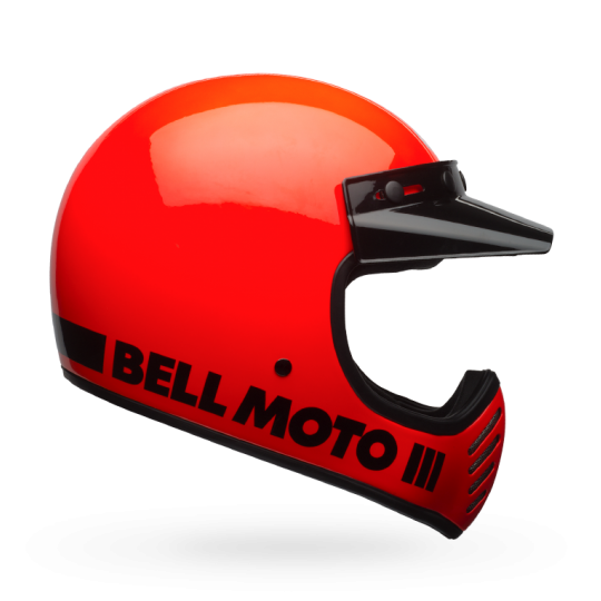 Bell Moto 3 Classic Flo Orange ECE
