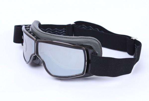 AVIATOR Brille T2 grau gunmetal silber verspiegelt