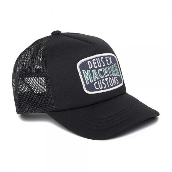 DEUS EX MACHINA Hat Title Trucker black