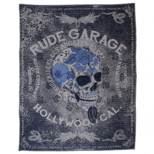 "RUDE RIDERS Blanket - ""Rude Garage"" - 150 x 190 cm"