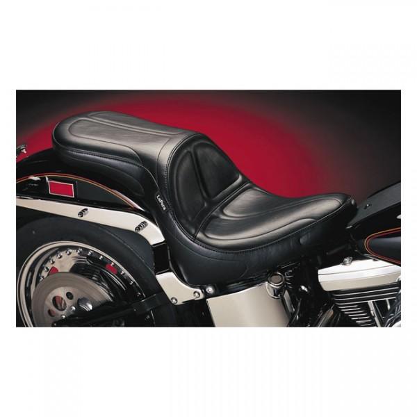 """LEPERA Seat - """"LePera, Maverick 2-up seat. Gel"""" - 84-99 Softail (NU)"""