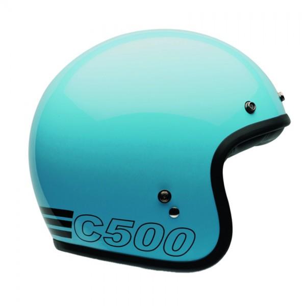"""BELL Custom 500 - """"Retro Blau"""" - ECE"""