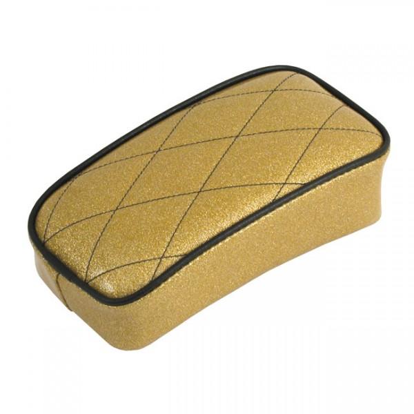 """LEPERA Seat - """"LePera, Metalflake Passenger seat. Solid Gold"""" - Universal"""