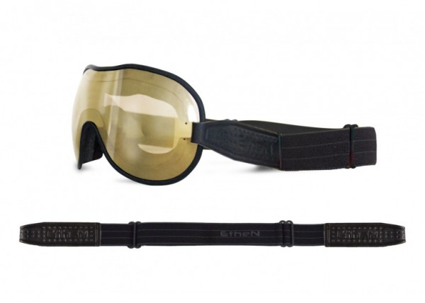 """ETHEN Goggles - """"Cafe Racer CR0122"""" - photochrome, bronze mirrored"""